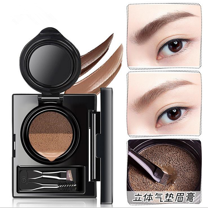 Beauty Essentials 1pc Eyebrow Dye Cream Eyebrows Powder Natural Air Cushion Double Color Eyebrows Seal Waterproof Mascara Eye Makeup Cosmetics Back To Search Resultsbeauty & Health