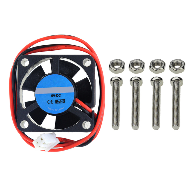 Raspberry Pi 3 CPU Active Cooling Fan for Customized Acrylic Case Supports Raspberry Pi Model B Plus B+ Raspbery Pi 2