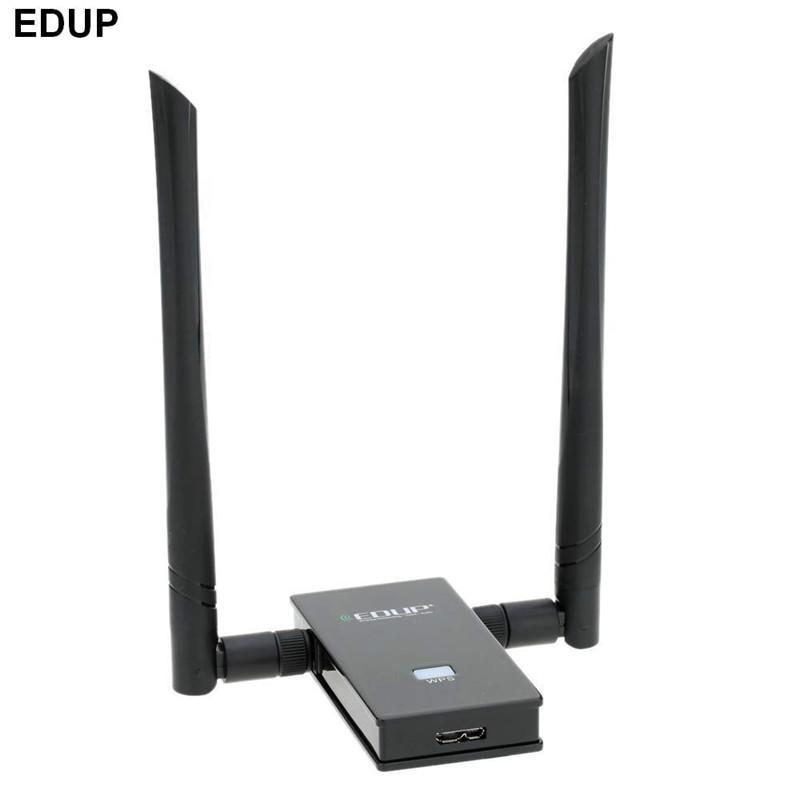 Dvojni pas 5.8GHz 802.11AC 1200Mbps Brezžični Wifi adapter USB 3.0 5GHz brezžična omrežna kartica z dvojno anteno 6dbi