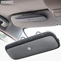 2016 new hot tz900 sunvisor handsfree car kit viva voz de áudio sem fio bluetooth speaker música para iphone samsung smartphones