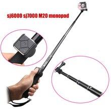 Original Portable Handheld Selfie Stick Monopod With Remote Controller For SJCAM M20 Sj6 Legend Sj7 Star Sport Action Camera DVR
