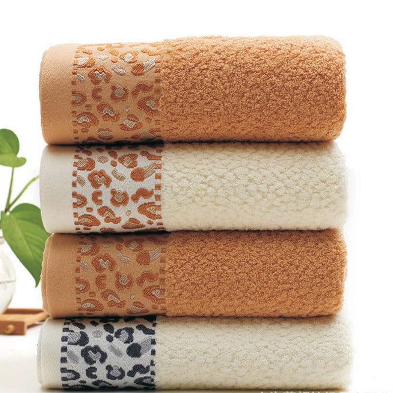 Jzgh 70 140cm Leopard Designer Cotton Bath Towels For S Y Beach Bathroom Terry Large Serviette De Bain T985 In From Home