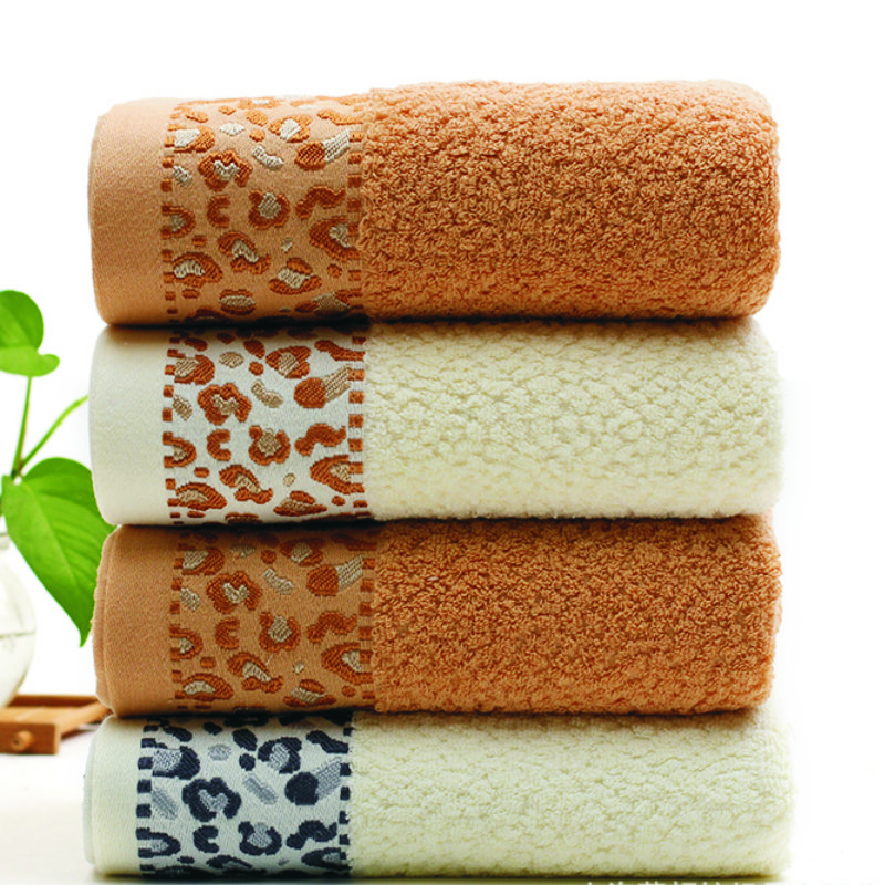 Jzgh 70 140cm Leopard Designer Cotton Bath Towels For Adults Sexy Beach Bathroom Terry