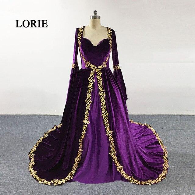 LORIE Fas Kaftan Arapça Akşam Elbise Sevgiliye Balo Elbisesi Boncuklu Uzun  Kollu Müslüman Gelinlik Modelleri Elbise 0bdddcd80895