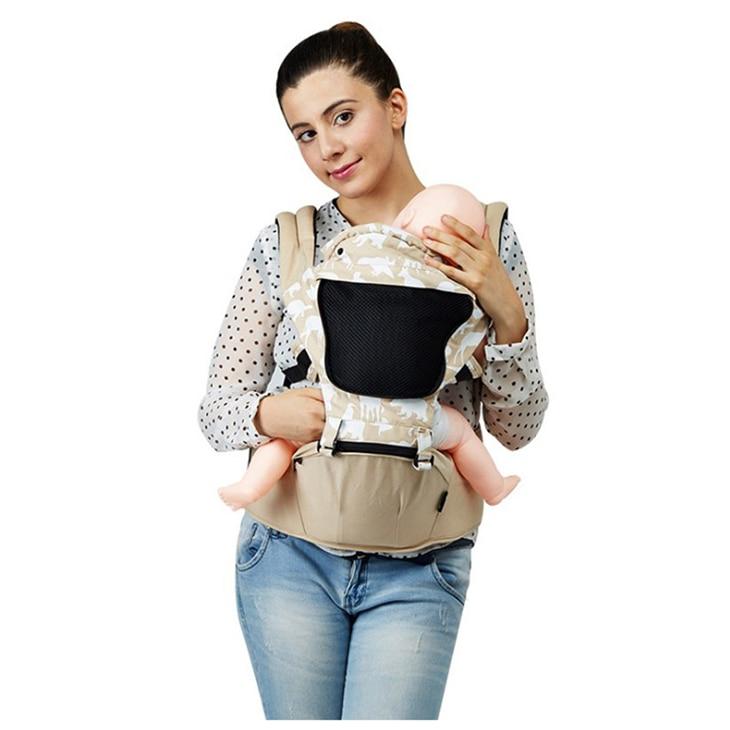 ABWE Best Sale UBELA Multifunctional Four Seasons Breathable Animal Print Window Detachable Headset Baby Waist Bags Baby Shoul