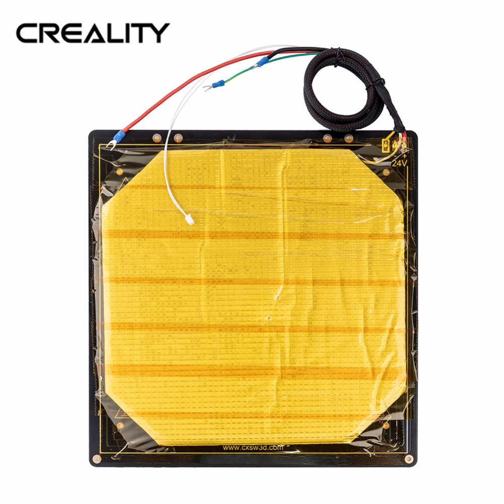 CREALITY 3D CR-10S PRO Heated Bed Frame 310*320MM Hotbed For CR-10S PRO 3D Printer Parts Black Aluminum Heatbed CREALITY 3D CR-10S PRO Heated Bed Frame 310*320MM Hotbed For CR-10S PRO 3D Printer Parts Black Aluminum Heatbed