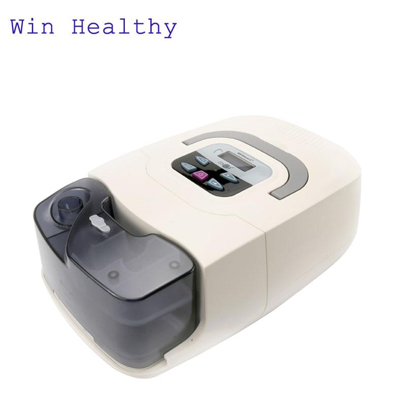 Win Healthy BMC GI CPAP Machine Smart Medical Health Care Beauty Sleep Ventilator Mask Snoring Apnea Therapy with Bags Tube