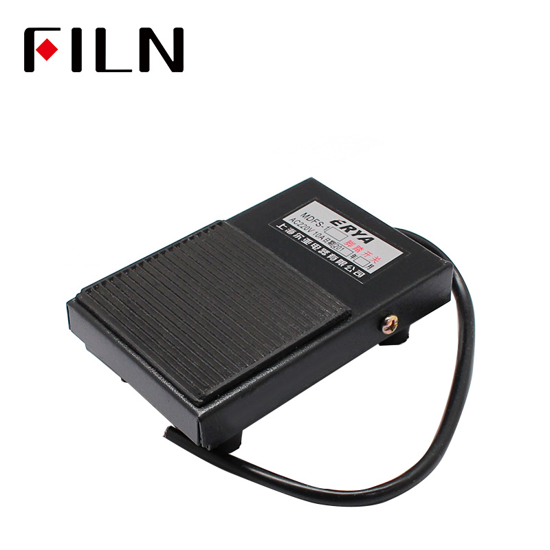 Guitar foot switch heavy duty momentary action push to make music equipment