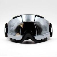 Nowy Projekt Srebrny Obiektyw Czarna Ramka Brand New Maska Okulary Narciarskie Gogle Narciarskie Okulary Mężczyźni Kobiety Śnieg Snowboard Gogle