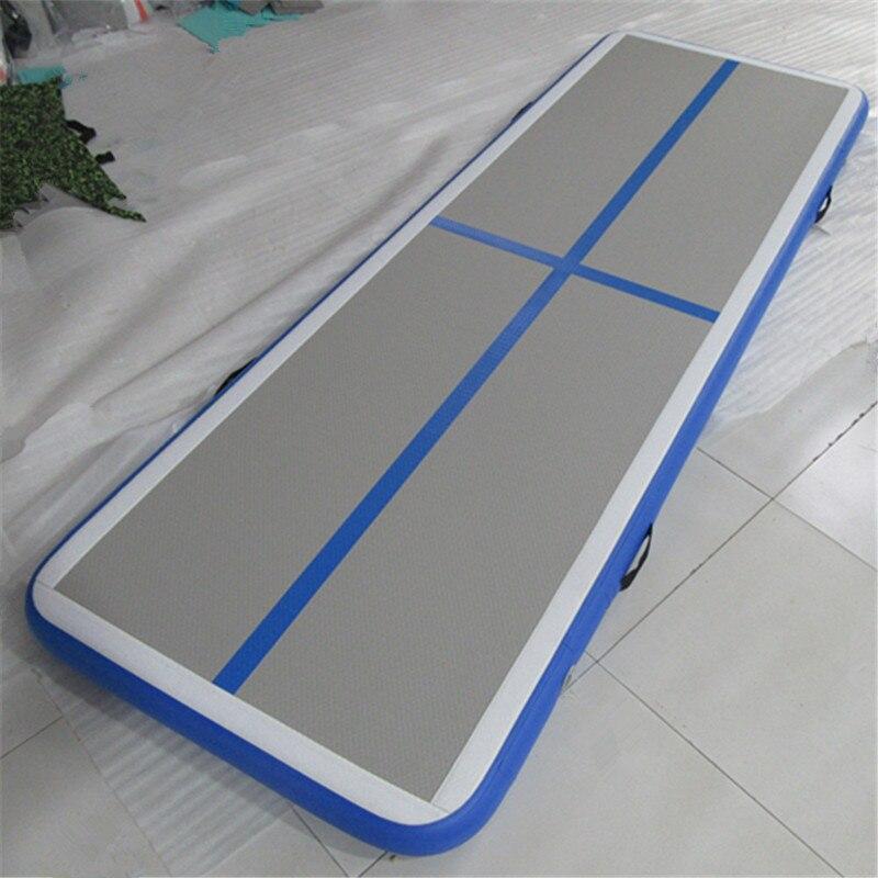 Купить с кэшбэком Tumbl Track Inflatable Gymnastics Air Floor For Home 4mx1mx10cm