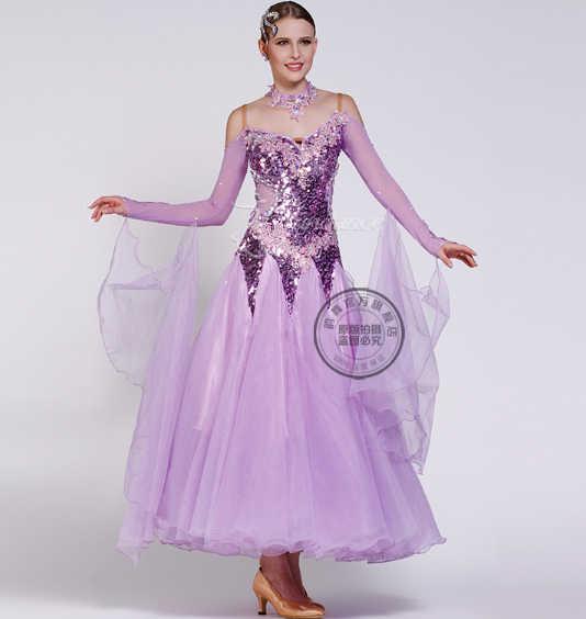 4ede9414620a51e Настраиваемое освещение фиолетовый взрослых костюмы для бальных танцев Fox  trot быстрый шаг Танго современный Вальс Конкурс