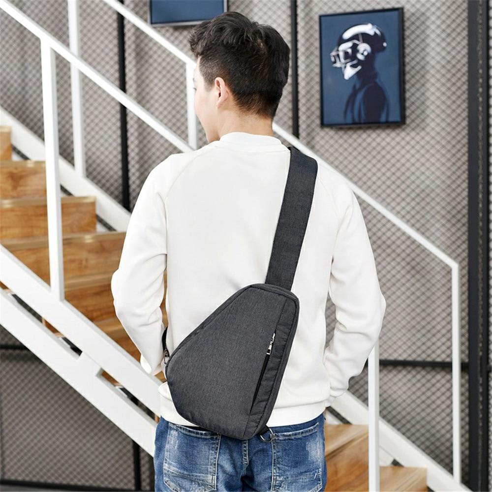 Cool Tourism Crossbody Bag Punk Rock Chest Pack Fashion Street Hip Hop Messenger Bags Waterproof Vacation Anti-theft Packs