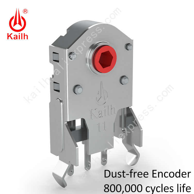 Kailh 7/8/9/10/11/12 MM ROTARY Mouse Scroll Wheel Encoder 1.74 มม.20-40G FORCE สำหรับ PC Mouse ALPS Encoder 800,000 รอบชีวิต