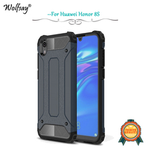 Huawei Honor 8S Case Shockproof Armor Rubber Silicone Hard Phone For Back Cover Fundas