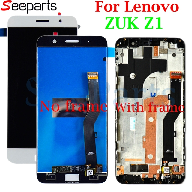 """5.5""""For Lenovo ZUK Z1 LCD Display Touch Screen Digitizer Assembly With Frame Zuk Z1 Replacement Parts For Lenovo ZUK Z1 Display"""
