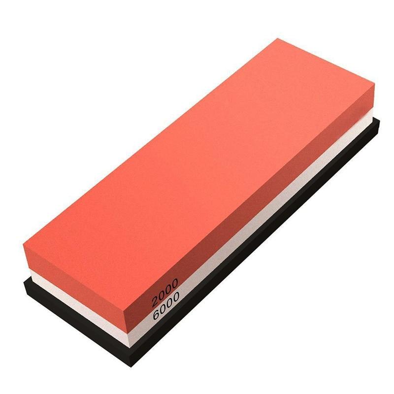 Hot sale Whetstone Knife Sharpener, Professional Sharpening Stone 2000/6000 Girt Water Stone For Knives