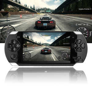 """4.3"""" Game Console 8G Easy Operation Multifunction Handheld Player Retro Portable Gift Entertainment Pocket Size HD Rechargeable(China)"""