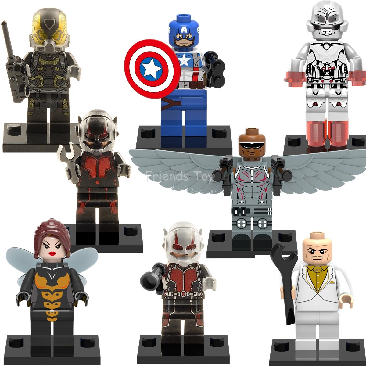 "LEGO /""Ant-Man /& Wasp/"" Marvel Movie Minifigure Wasp New"