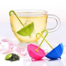 Infuser фильтры выбор четыре посуда фильтр кофе зонтик силиконовые милый чай