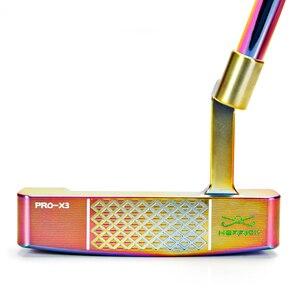 Image 5 - Clubes de golfe putter men destro cor putter eixo de aço livre shipiping