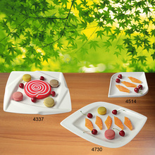 New Fashion Plate Melamine Tableware Square Fashionable Restaurant With A5