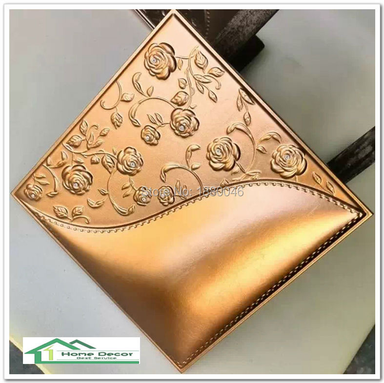 New Free Shipping 3d Pu Leather Panel Wall Panel Leather
