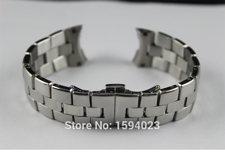 где купить 21mm T076417A New Watch Parts Male Solid Stainless steel bracelet strap Watch Bands For T076417 Free Shipping дешево