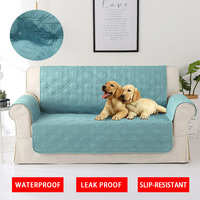 Waterproof Sofa Cover for Dog Cat Pets Kids Armchair Modern Sofa Couch Slipcovers Protector Cover Slip for Sofa Slip resistant
