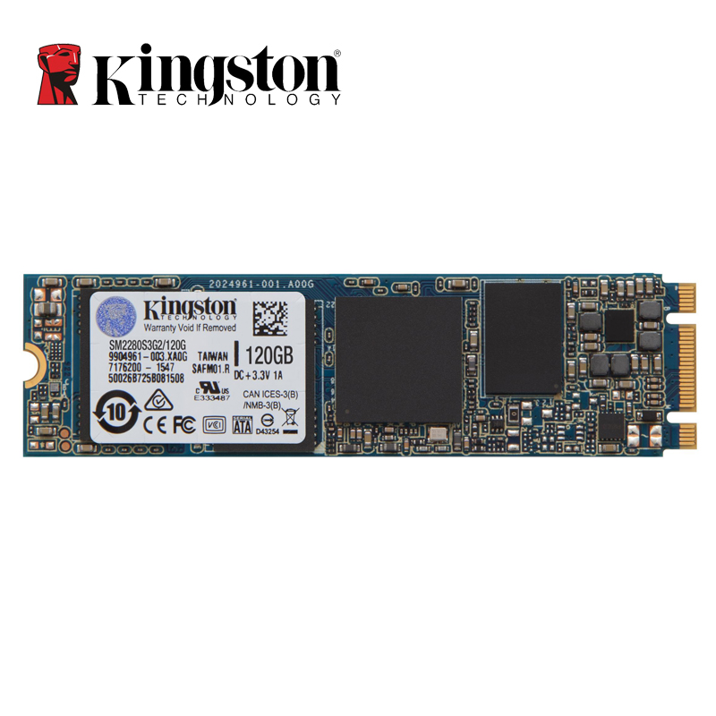Prix pour Kingston SSDNOW M.2 SATA G2 SSD 120 GB 240 GB M.2 2280 interne Solid State Drive Disque Dur SFF Pour PC Portable Ultrabook
