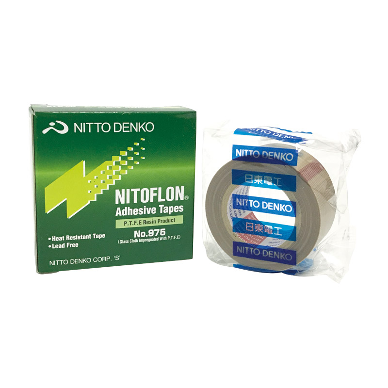 975 T0.12mm*W25/38/50mm*L10m Nitto Denko Waterproof Tape Nitoflon Adhesive Tape 975
