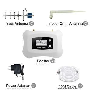 Image 5 - 70dB 4 4g lte 800 バンド 20 携帯信号ブースター 4 4g lte携帯電話の信号リピータagc mgcスマート携帯電話アンプアンテナ 4 グラム