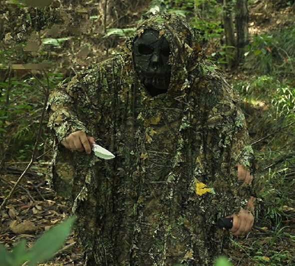 Tactical Military CS Ghillie suit Stealth camouflage suit mesh net style hunting clothing Sniper tactical camouflage suits military camouflage ghillie suit woodland grass hay style paintball leaf jungle sniper clothes hunting tactical shade clothing