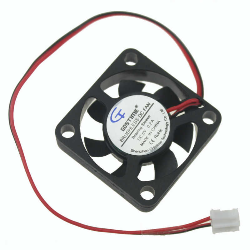 Gdstime 1 Piece 5V 2pin 30x30x7mm 30mm x 7mm Small Equipment Brushless DC Cooling Cooler Fan 2Pin 2.0 2pieces lot gdstime 2pin 5v dc 3007 30mm 3cm 30x30 x7mm 5v cooler cooling fan