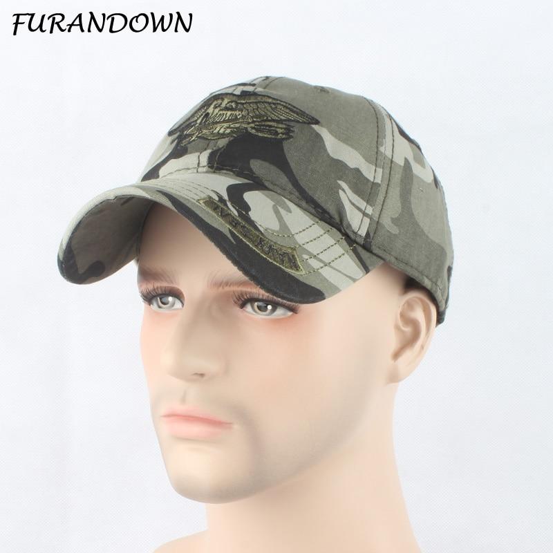 FURANDOWN Mode Camouflage Hat märkesbaserade baseballmössor Unisex - Kläder tillbehör