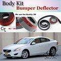 Deflector pára lábio lábios para volvo s60 s60l spoiler dianteiro saia para Os Fãs de TG Carro Tuning Ver/Body Kit/Strip