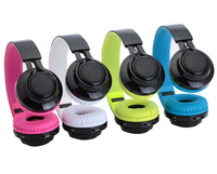 Multi Function Wireless Bluetooth Folding Headset With Led Lights Flashing Headphones Support Fm Radio TF Card