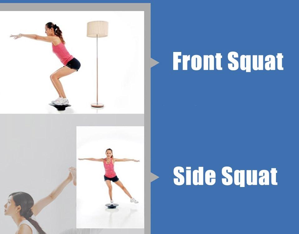 40 cm Stabiliteit Disc Taille Wriemelende Cirkelvormige Plaat Sport Antislip Yoga Swing Balance Board Beer 250 kg Balance Board