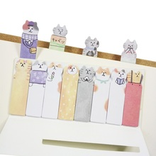 1pack/lot Cute Kawaii Cartoon Cat Mini Memo Pad Sticky Notes Memo Notebook Stationery Note Paper Stickers School Office Supplies cute kawaii planets creative memo pad sticky notes post it memo notebook stationery note paper stickers office school supplies