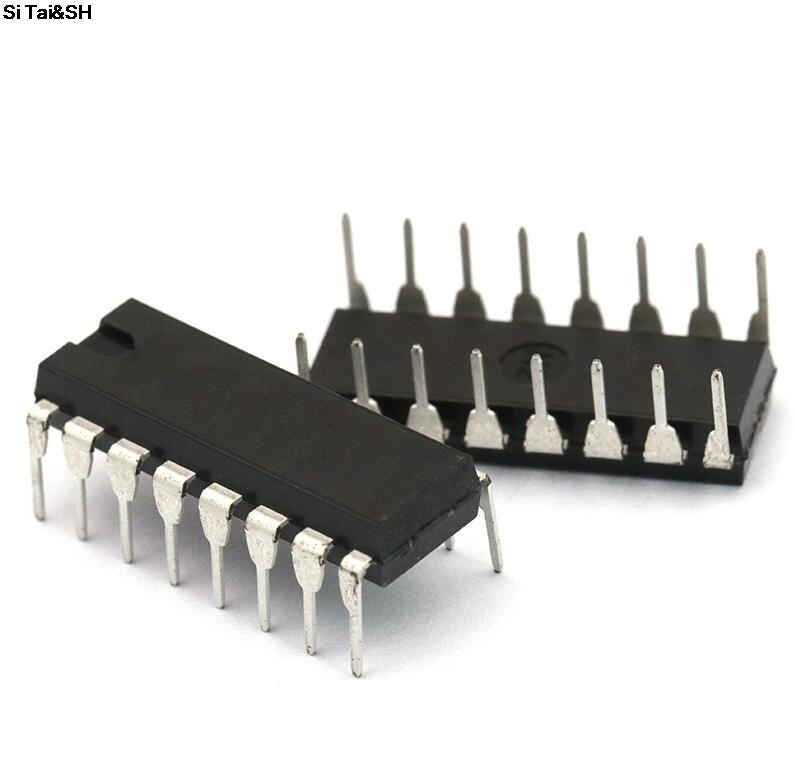 10PCS/Lot CD4053 CD4053BE HEF4053 Cd4053be 4053 DIP-16 Analog Switch IC