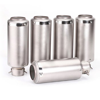 51mm 60mm Universal Scooter SC Exhaust Pipe Muffler