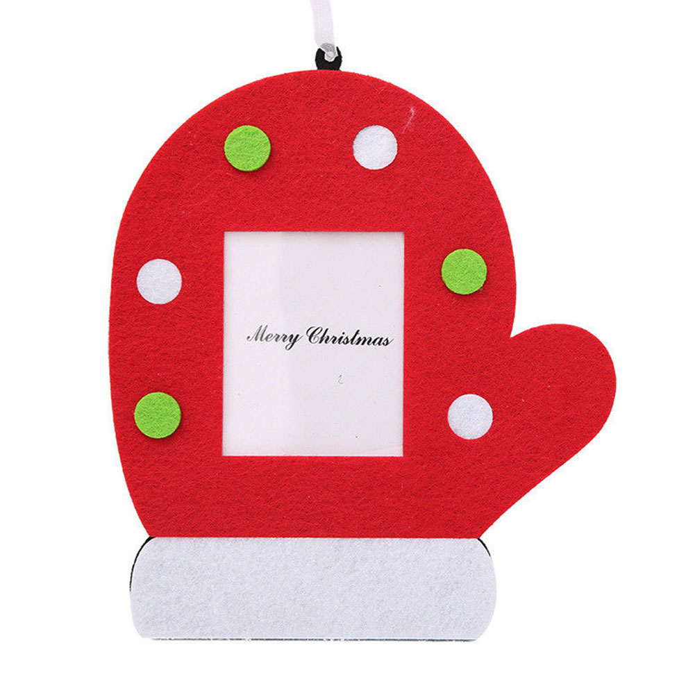 Universal Photo Frame Christmas Hanging Ornament Pendant Party Wall Door  Decors(china)