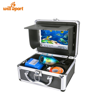 Portable Delux Kit Underwater Fishing Camera Video Fish Finder DVR HD 600TV Lines 15M Version Usage