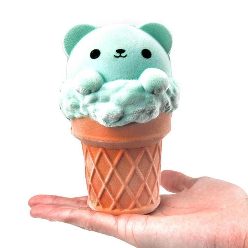 CHAMSGEND мини очаровательные мороженое медведь супер медленно поднимающиеся дети забавная игрушка снятие стресса игрушка 4,17