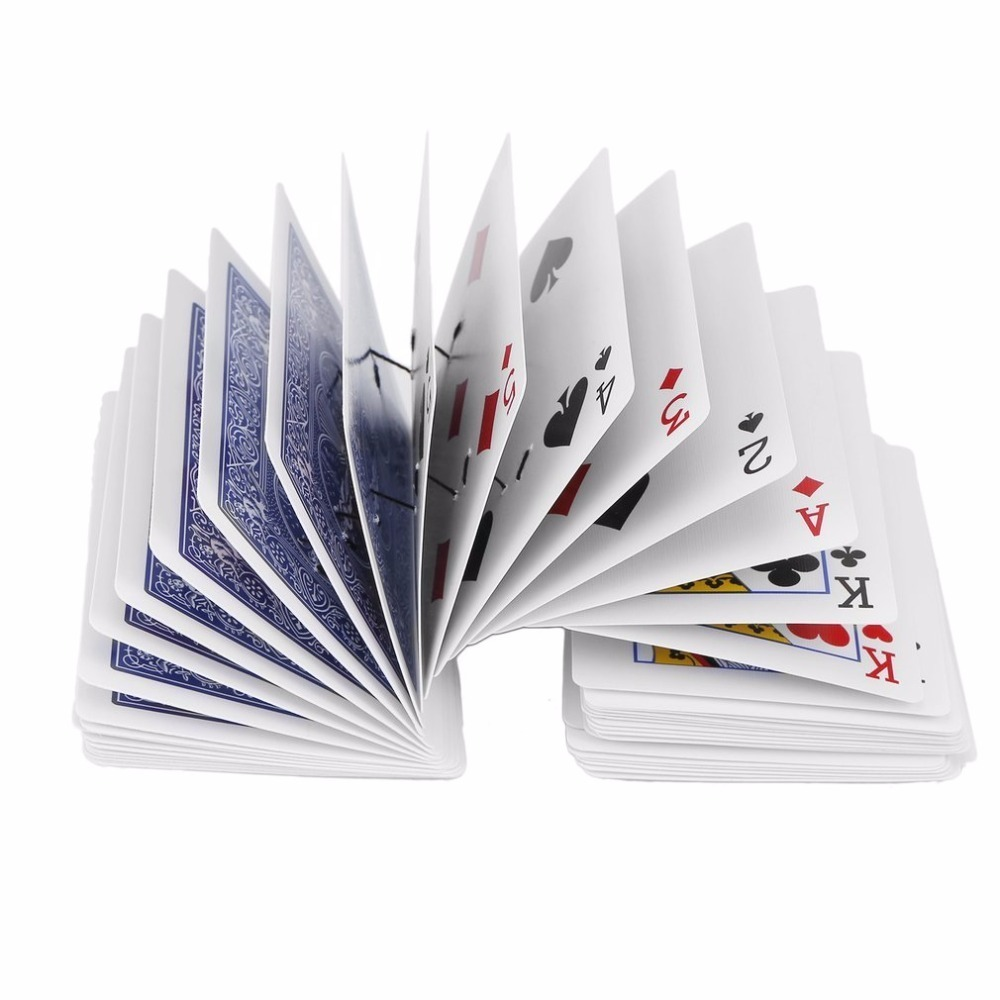 OCDAY Durable Poker Magic Tricks Cards Props Standard Decks Magic Trick Card Playing Cards Creative Toys for Children Best Gift