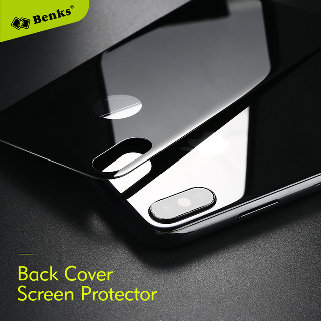 huge discount eea7a 480ac US $13.22 |Benks Back Screen Protector For iPhone X 0.3mm Back Toughened  Glass Ultra Thin 9H Reverse Tempered Film For iPhoneX Back Glass-in Phone  ...