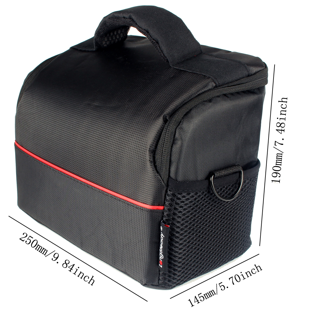 Waterproof Nylon Camera Bag Case for Canon EOS 77D 70D 80D 4000D 2000D 5D Mark IV III 60D 6D 7D Mark II 2 50D 5DS 5DR 60Da