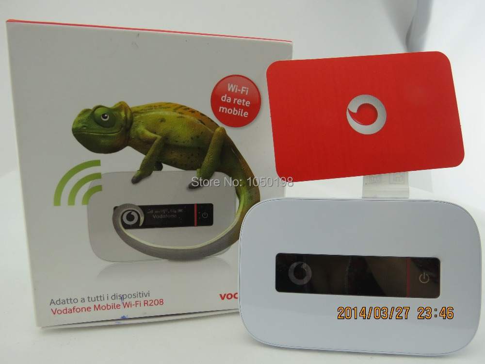 Vodafone R208 43Mbps Mobile WiFi huawei r208 e5756 huawei pocket wifi цена
