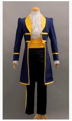 Beauty And The Beast Belle Blue Prince Adam Costume Black Adult Cosplay  Costumes Movie Cool Halloween