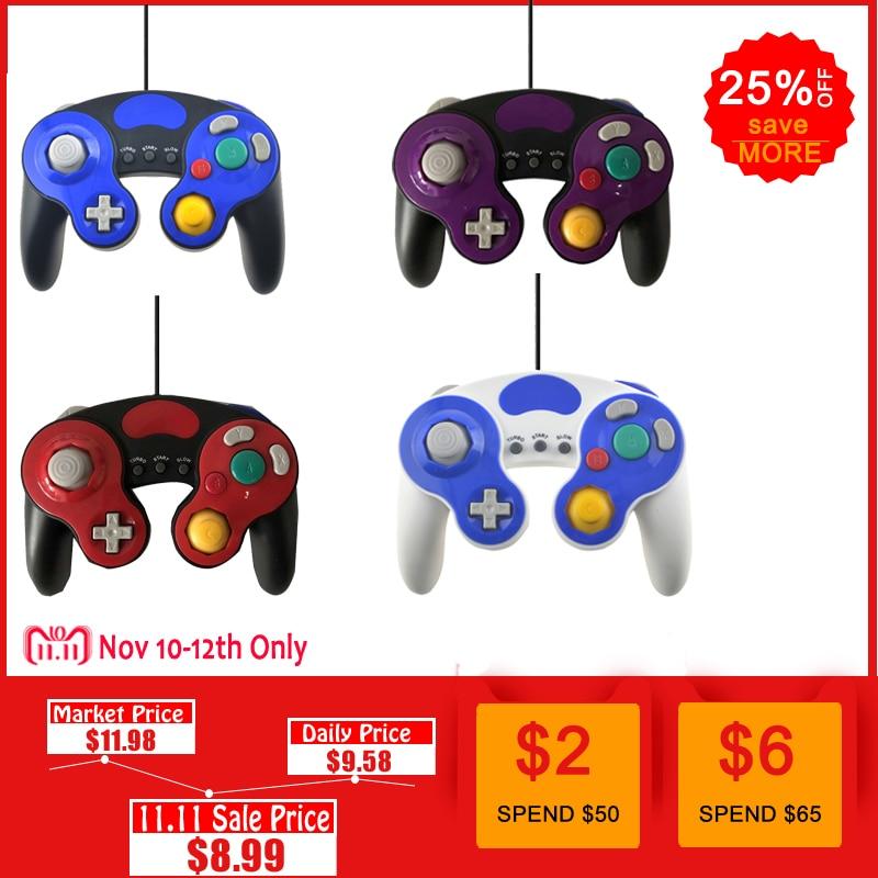 Für Gamecube Controller USB Wired Handheld Joystick Für Nintend Für NGC GC Controle Für MAC Computer PC Gamepad