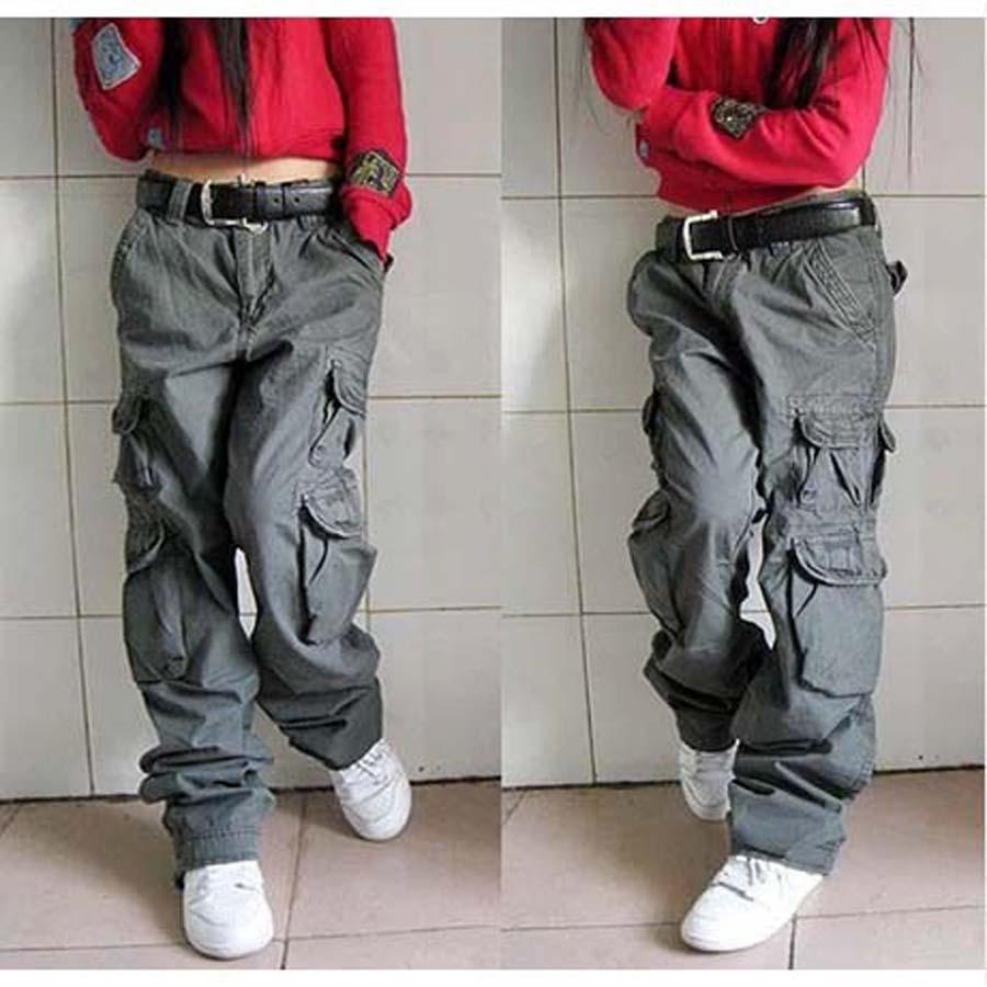 Online Get Cheap Womens Black Cargo Pants -Aliexpress.com ...
